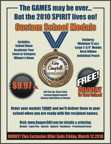 Gold Medal School Special